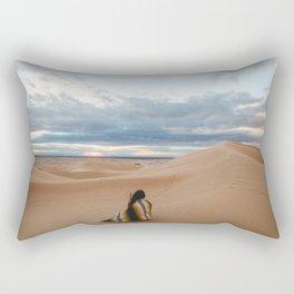 Love lost Rectangular Pillow