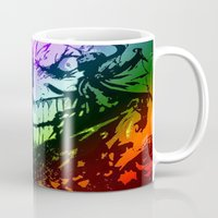 the joker Mugs featuring joker by DeMoose_Art