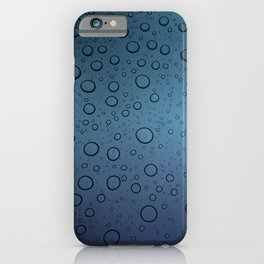 It was Night and the Rain fell iPhone Case