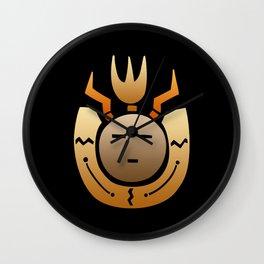 Native American Indian Face Wall Clock