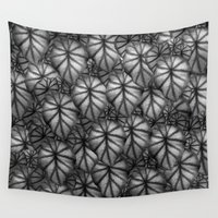 rare Wall Tapestries featuring Rare Jungle, Silver Shades by Lindel Caine