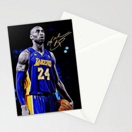 K.B King of  Basketball Art Print03 Stationery Cards