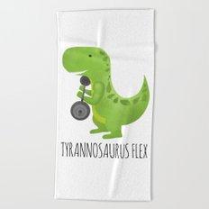 Tyrannosaurus Flex Beach Towel