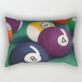 Billiards Rectangular Pillow