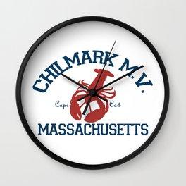 ChilMark, Martha's Vineyard. Cape Cod Wall Clock