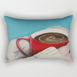 Warmth (Coffee Break) Rectangular Pillow