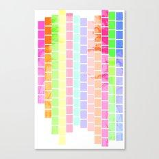 Bricks of Sound Canvas Print