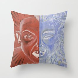 Soul Rebel Throw Pillow