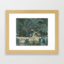 Tropical Jungle II Framed Art Print