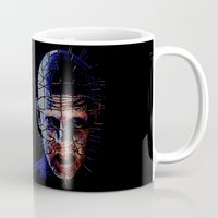 pennywise Mugs featuring PINHEAD! by John Medbury (LAZY J Studios)