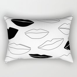 Dark Kisses Rectangular Pillow