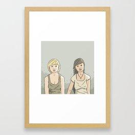 Waste no fun Framed Art Print