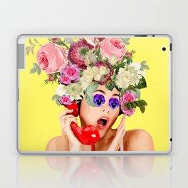 Woman in Rose Laptop & iPad Skin