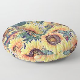Summer Garden 1 Floor Pillow