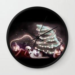 Halloween Year Wall Clock