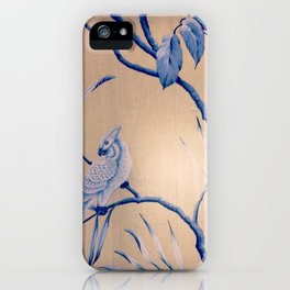 bird wall paper iPhone Case
