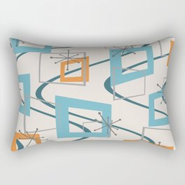 Mid Century Modern Minimalism Rectangular Pillow