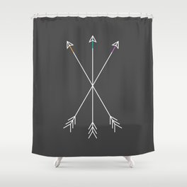Killers (Gray) Shower Curtain