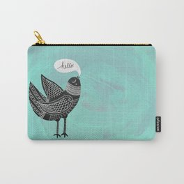 Hello Bird Carry-All Pouch