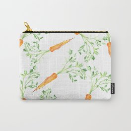Watercolor carrots Carry-All Pouch