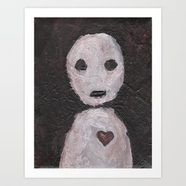 Portraits of Ghosts #1 Art Print