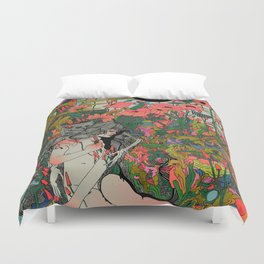 I Love You to Death Duvet Cover