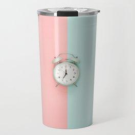 Double-Bell Clock Travel Mug
