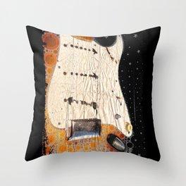 '72 Strat Throw Pillow