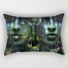 Inside Passage Rectangular Pillow
