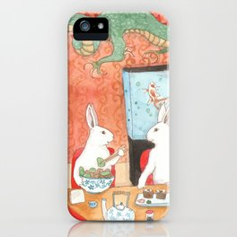 Sushi and Noodles iPhone Case