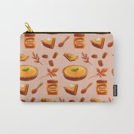 Autumn Pumpkin Pie Carry-All Pouch