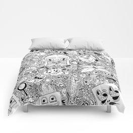 Random Doodles Comforters