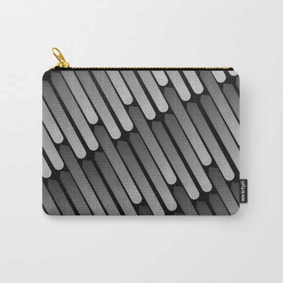 Raining Silver Carry-All Pouch