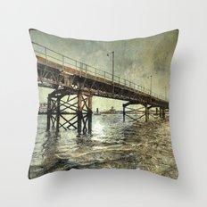 Mersey History Throw Pillow