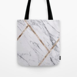 Rose Golden classic marble Tote Bag