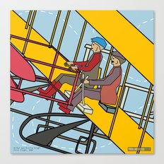 Wilbur and Orville Wright, 1903 Canvas Print