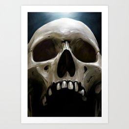 Skull 13 Art Print