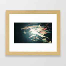 Wipeout Framed Art Print