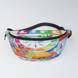 Life Game Of Life Board Game Painting Fanny Pack