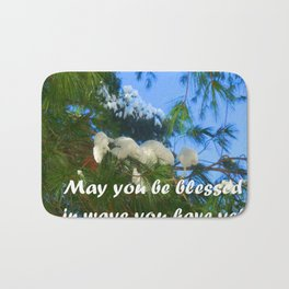 May you be blessed in ways you have yet to imagine. Bath Mat