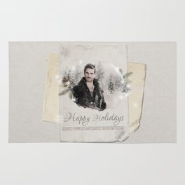 OUAT HAPPY HOLIDAYS // Captain Hook Rug