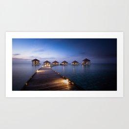 honeymooners paradise Art Print