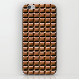 Chocolate Bar Overhead iPhone Skin
