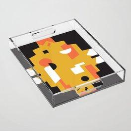 Techno Thunder Acrylic Tray