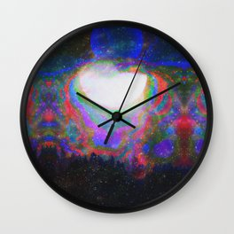 The Echoes of Reason Parting Electrified Twilight Wall Clock