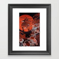 Setsuna - split second Framed Art Print
