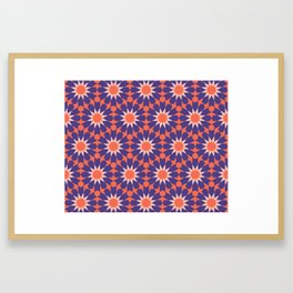 Cosy Moroccan Framed Art Print