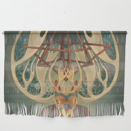 The Father Moose Wall Hanging