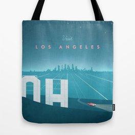 Vintage Los Angeles Travel Poster Tote Bag
