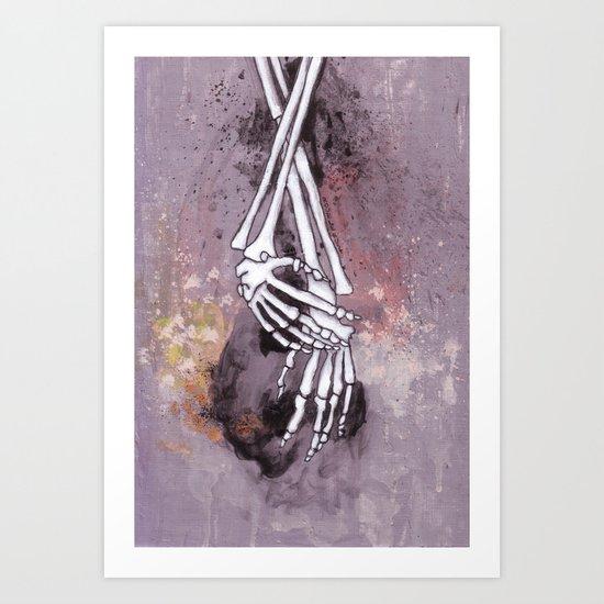 骸骨 弐 Art Print